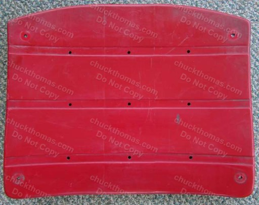 Three Rivers ORIGINAL Red Seat Bottom