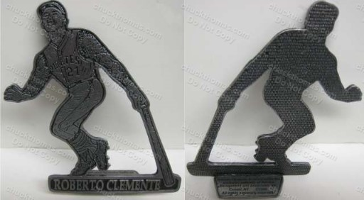 Clemente Promotional Pewter Statue Replica RARE