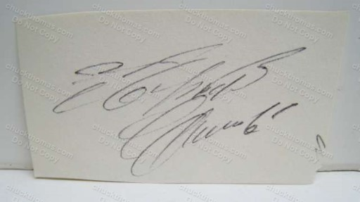 Pirates All Star Roberto Clemente Autographed Cut