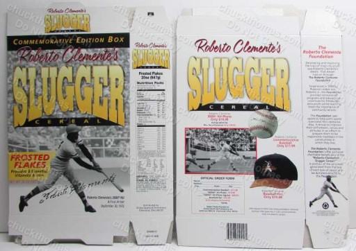 Roberto Clemente Frosted Flakes Flat UNUSED Factory Box