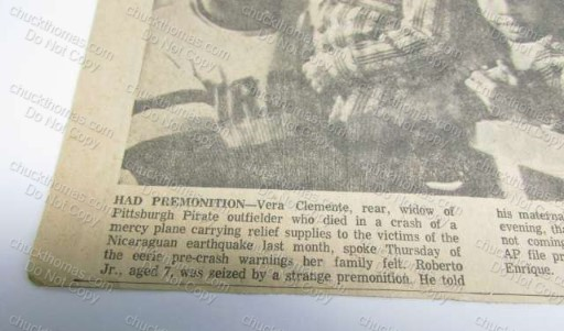Vera Clemente New Clipping Premonition