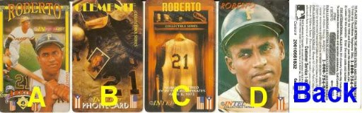 Roberto Clemente Phone Card