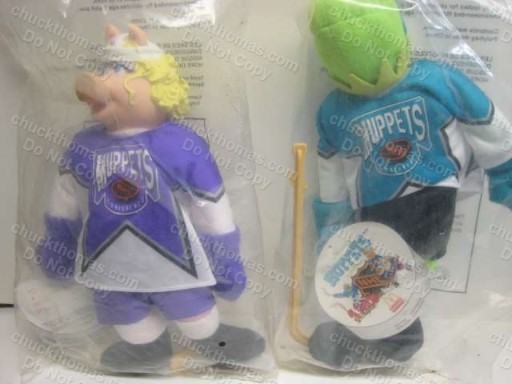 McDonalds from Canada Muppet Hockey Players