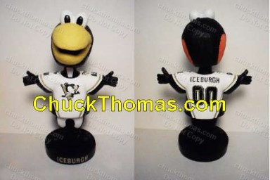 Iceburgh Bobble Head Doll