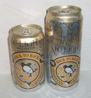 Iron City Penguin Back To Back Cans