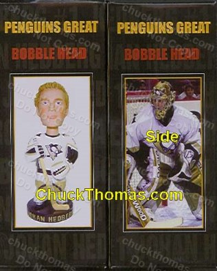 Johan Hedberg Bobble Head Doll