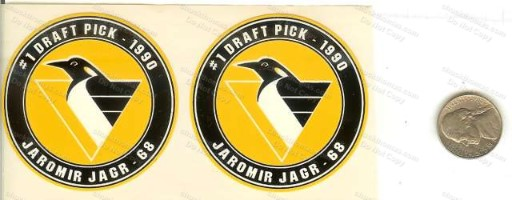 Jagr Peanut Butter Lid Stickers