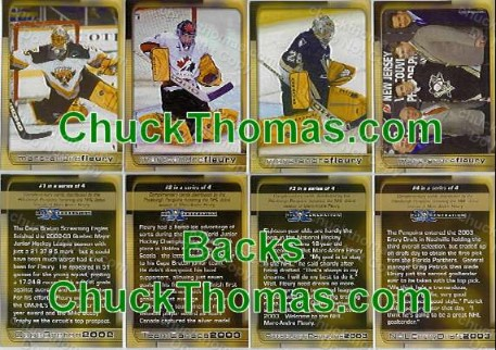 Fleury 4 Card Set