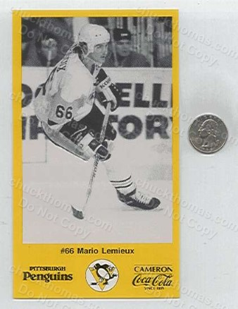 1987/88 Lemieux Postcards from Colussi Chevrolet