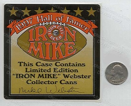Mike Webster IC Sticker