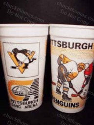 Pen Beer Cups From the Arena
