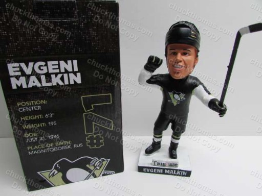 Penguin Evgeni Mallkin 2014-15 Bobbing Head Doll Home Game Promotion