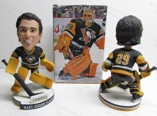 Marc Andre Fleury 2015 Home Game Promotion Bobble Head Doll