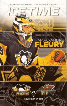 Marc Andre Fleury Ice Time Magazine