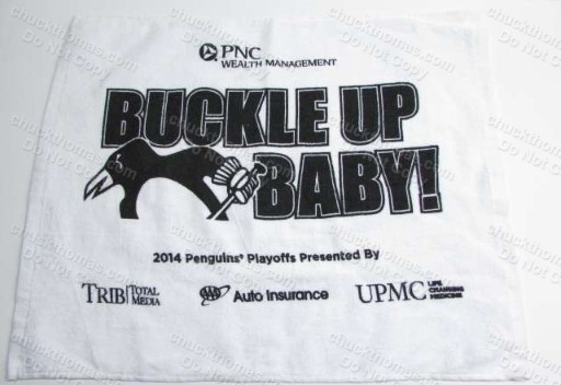 PNC Wealth Managment Buckle Up Towel