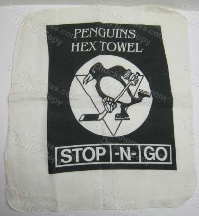 Penguins Hex Towel