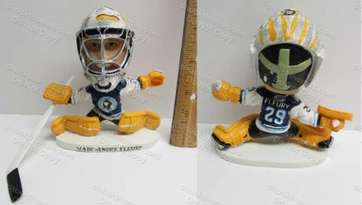 Marc Andre Fleury AHL Wilkes Barre Scranton Minor League Bobbing Head Doll