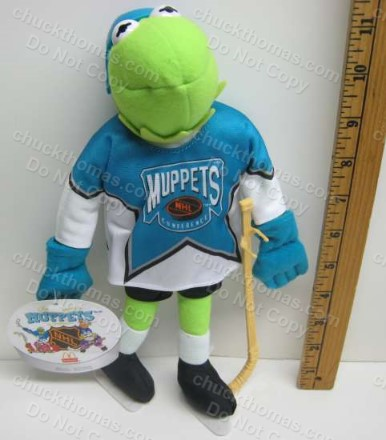 KERMIT Muppet Plush Hockey Figure from 1995 McDonalds Promotion