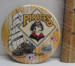 Pirates Baseball Old Logo 3 Rivers Stadium Pin