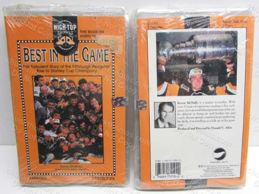 Penguins 1992 Stanley Cup Audio Cassette Tapes