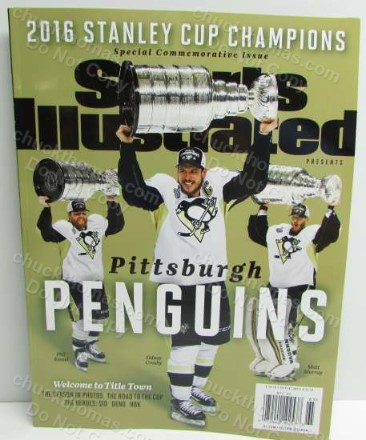 2016 Penguins Stanley Cup Sports Illustrated Commemorative Issue