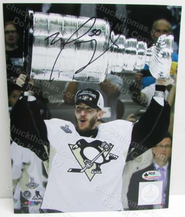 Mat Murray Autographed Stanley Cup Photo