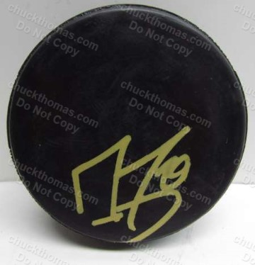 Marc Andre Fleury Autographed Hockey Puck