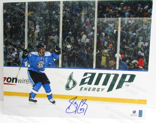 Sidney Crosby Signed Penguin Action Photo