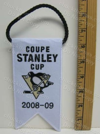 Penguins 2008-2009 Stanley Cup Mini Banner