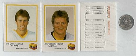 1986-87 Penguins KODAK Cards