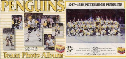 1987-88 Penguins Team Photo