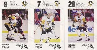 1989-90 Elby's Penguin Cards