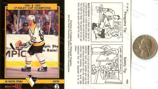 Pittsburgh Hockey Police Set 1993