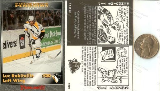 Penguin Hockey Police Safety Regional Set 1995