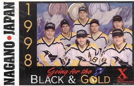 1998 Penguin Olympic Team Players