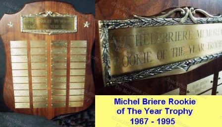 Penguins Michel Briere Trophy