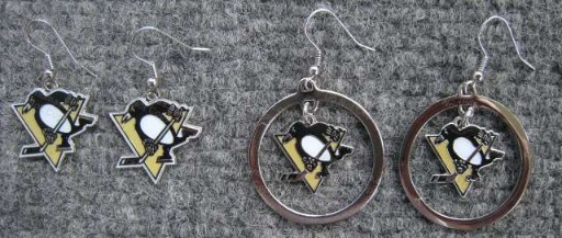 Pens J Hook Earrings and Hoop Earrings