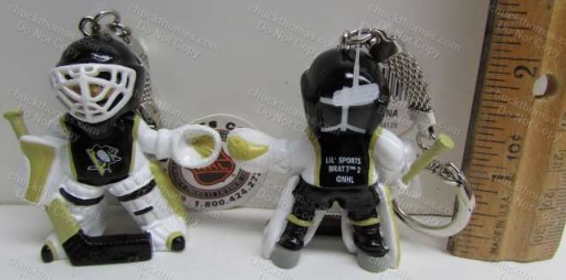 Penguins Little Goalie Key Ring