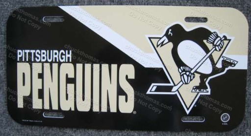 Pens License Plate