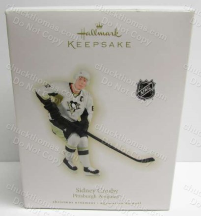 Sidney Crosby 2009 Hallmark Ornament with the Original Box