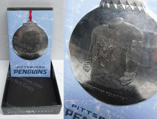 Sidney Crosby Wendell August Ford Christmas Tree Ornament