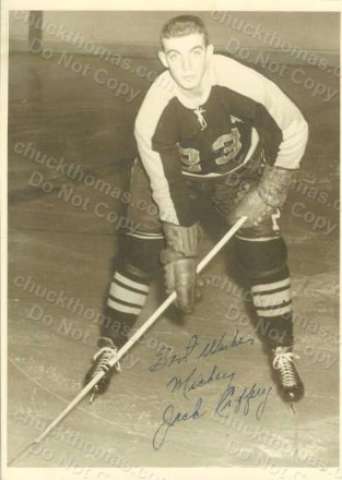 Hornets Hockey Autographed Player Photo