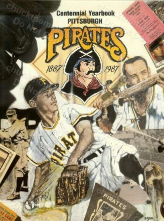 1987 Pirates Yearbook