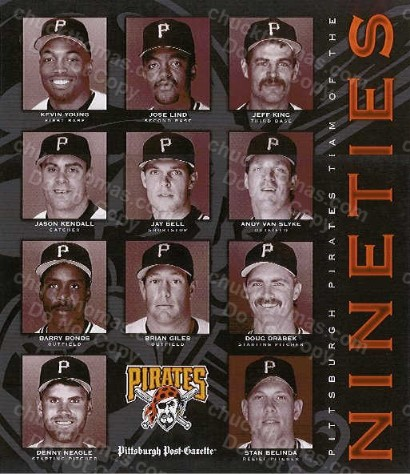 Pirates Team of the 90's Poster