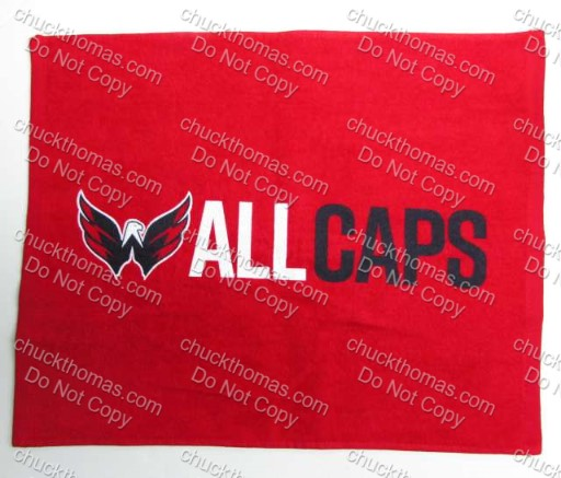Washing Capitals s Pittsburgh Penguins Red 2018 Playoff Cheering Towel