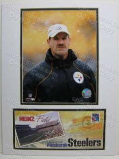 Steeler Coach Bill Cowher Photo