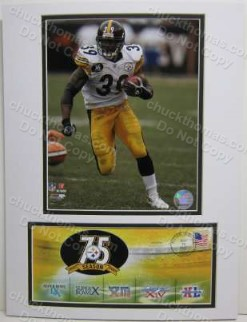 Willie Parker Steeler Photo