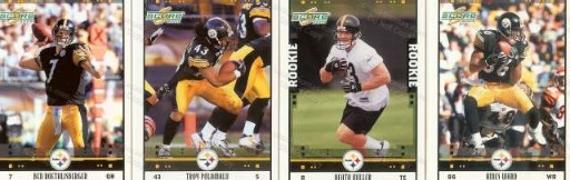 2005 Steeler Trading Card Set