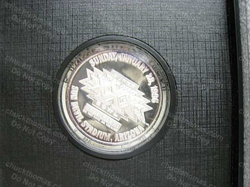 Steelers Silver SB XXX Coin