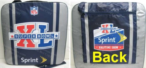 Steelers 2006 SB 40 Seat Cushion